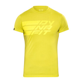 Dynafit Compound Shortsleeve Shirt Men yellow